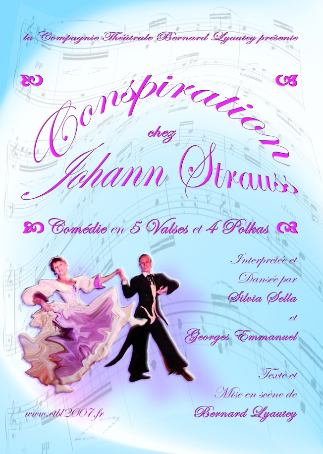 Affiche Conspiration Chez Johann Strauss