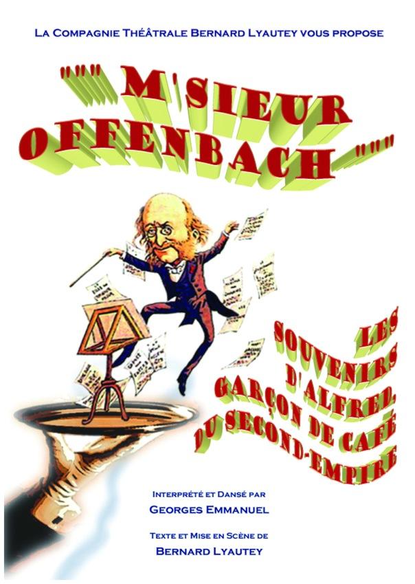 Affiche Offenbach A3